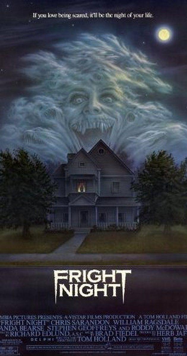 Fright Night 1985 Imdb Fright Night Scary Movies Horror