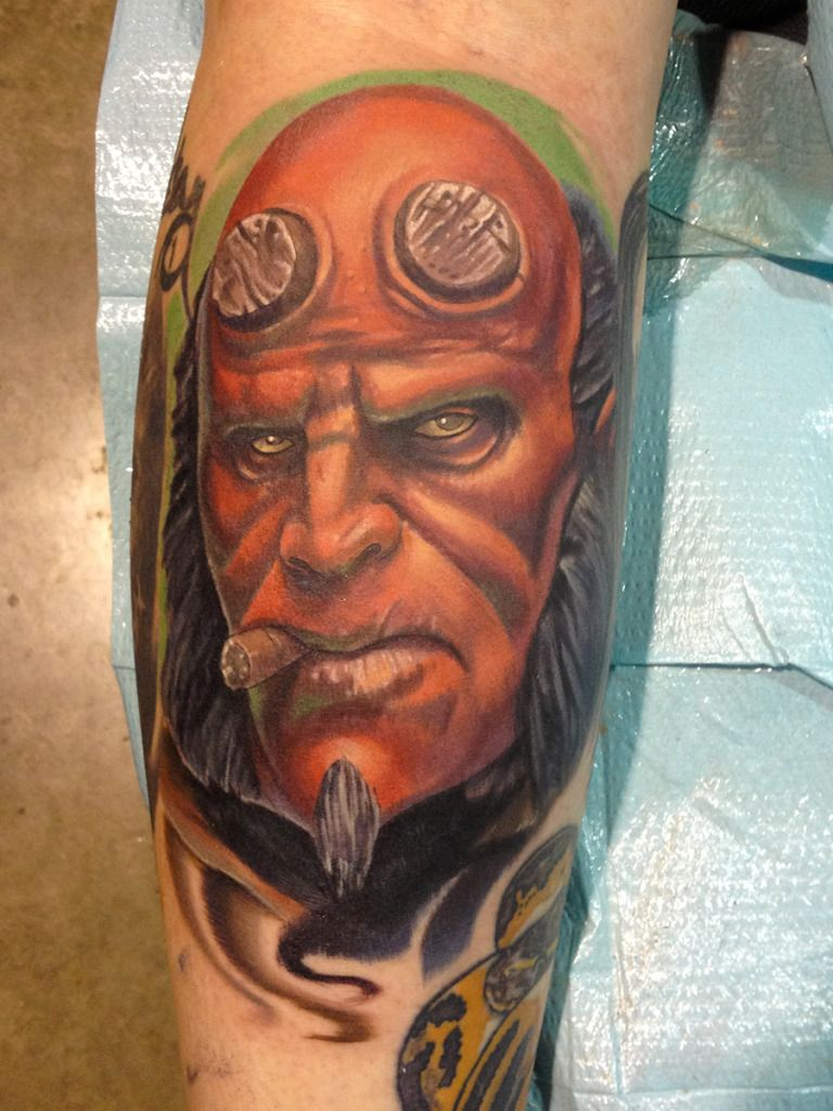 Halo Jankowski Black Lotus Tattoo Another Tattoo Black