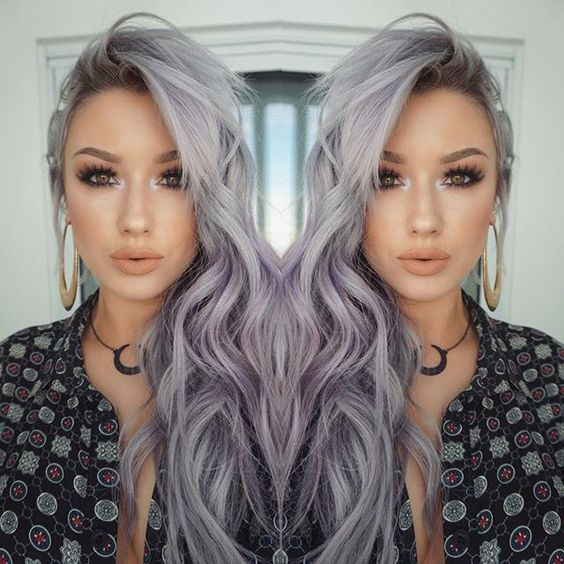 Dark Purple Hair Tumblr Pastel Purple Hair Light Purple Hair