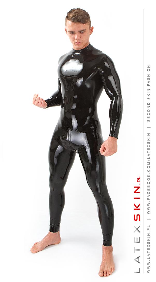 Latex suit men