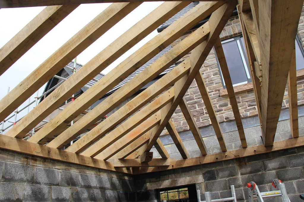 Swansea hipped roof | timber frame | Pinterest | Joinery and Woods