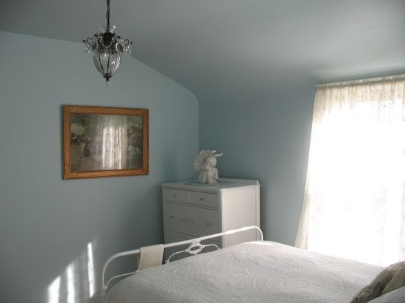 Lament blue by valspar perfect light blue with grey - Light grey paint color for bedroom ...