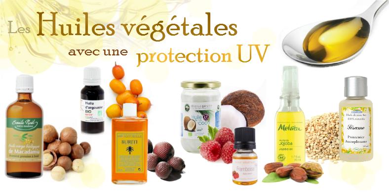 huile vegetale anti uv