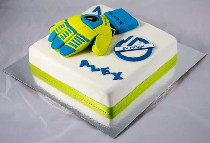 Goalkeeper Cake For My Cousin Alexander Torten