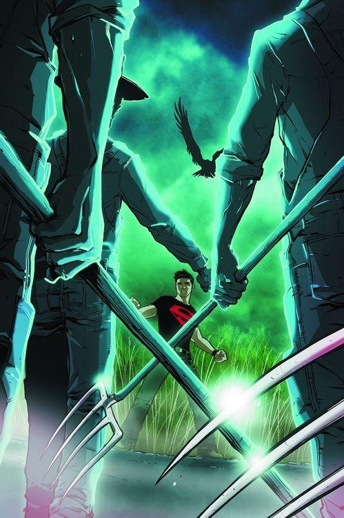 Superboy #illustration
