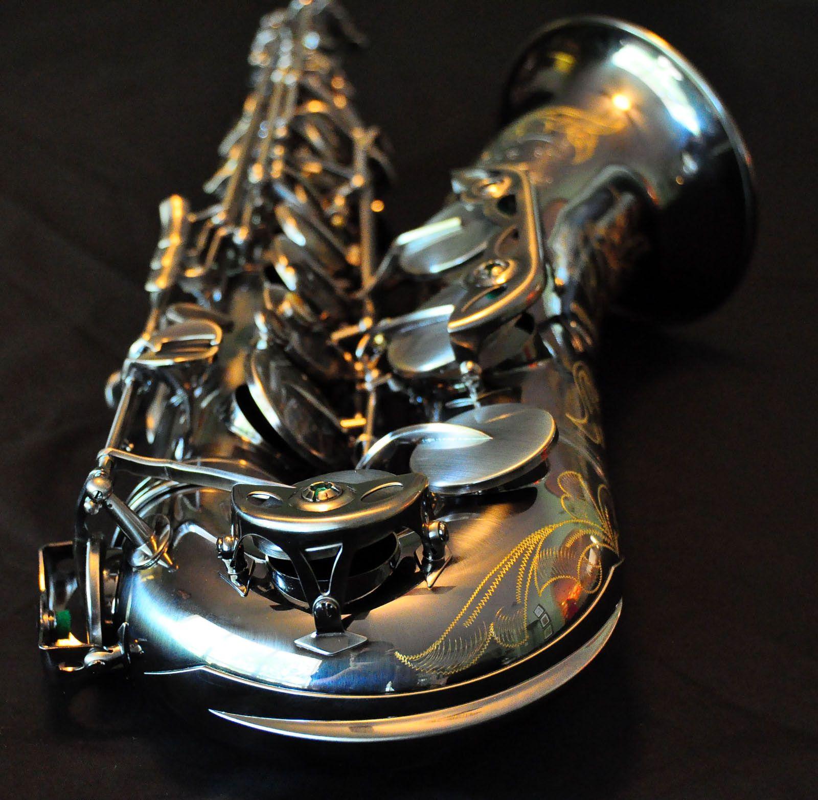 Warburton Special Edition Nickel Finish Tenor Sax