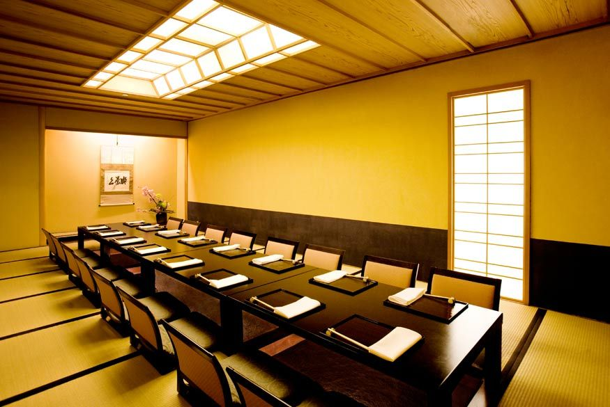 Traditional Japanese Dining Room low floor dining table | dream home | pinterest | tatami room and room