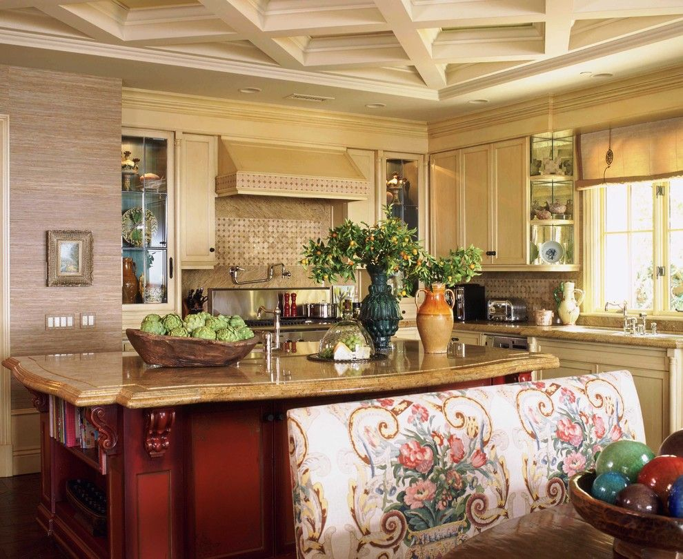 French Country Kitchen Design, Pictures, Remodel, Decor and Ideas - page 5
