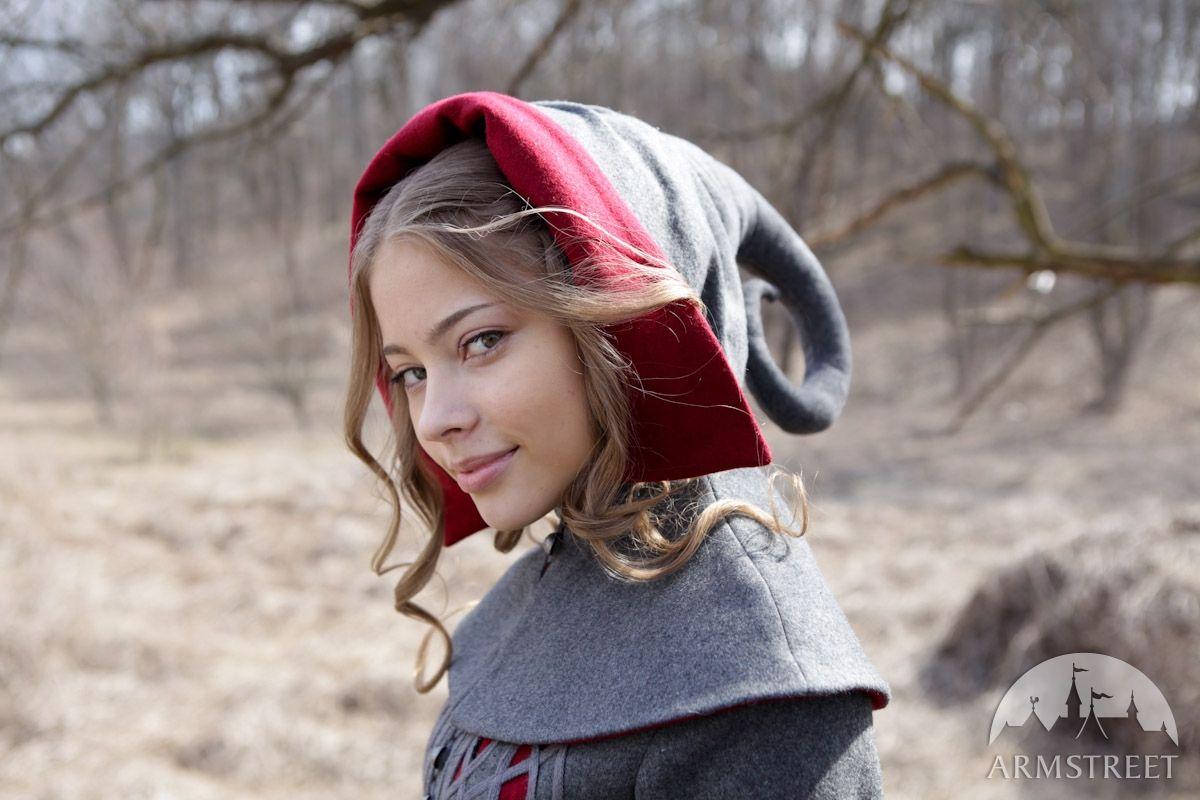 "Copricapo di lana ""Red Riding Hood"""
