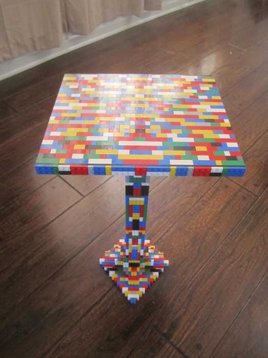 lego decorating bedroom ideas   ... Top Dining Table with Lego Parts Offers Unique Furniture Design Idea