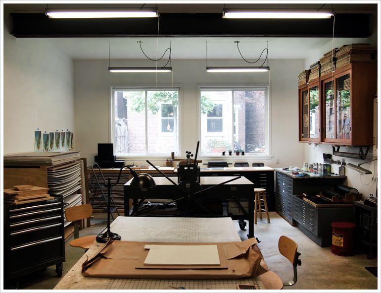 Tugboat Printshop, Pittsburgh PA | Shop interior design ...