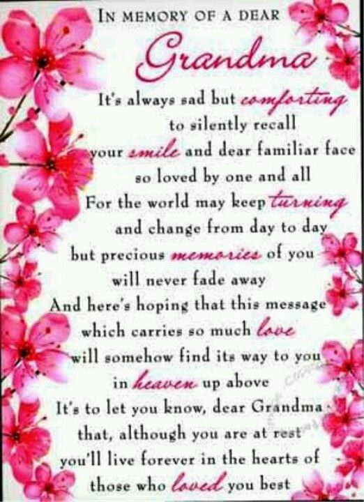 In Loving Memory Of Grandma Quotes : loving, memory, grandma, quotes, Quondam, Loving, Memories, Loved, Ones!, Grandma, Quotes,, Grandmother
