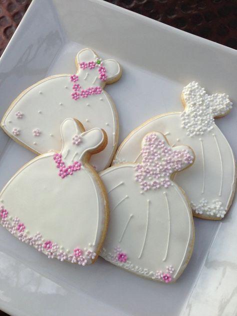 Decoración de galletas galleta de vestido de por TheArtfulBaker