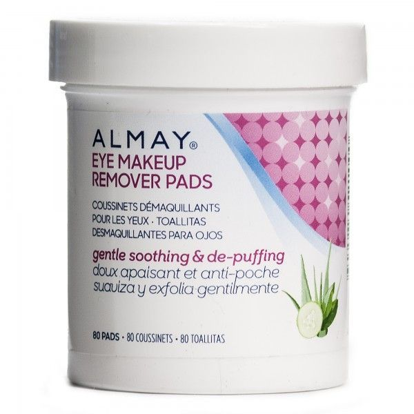 Almay Oil Free Eye Makeup Remover Pads 80 Pads Products