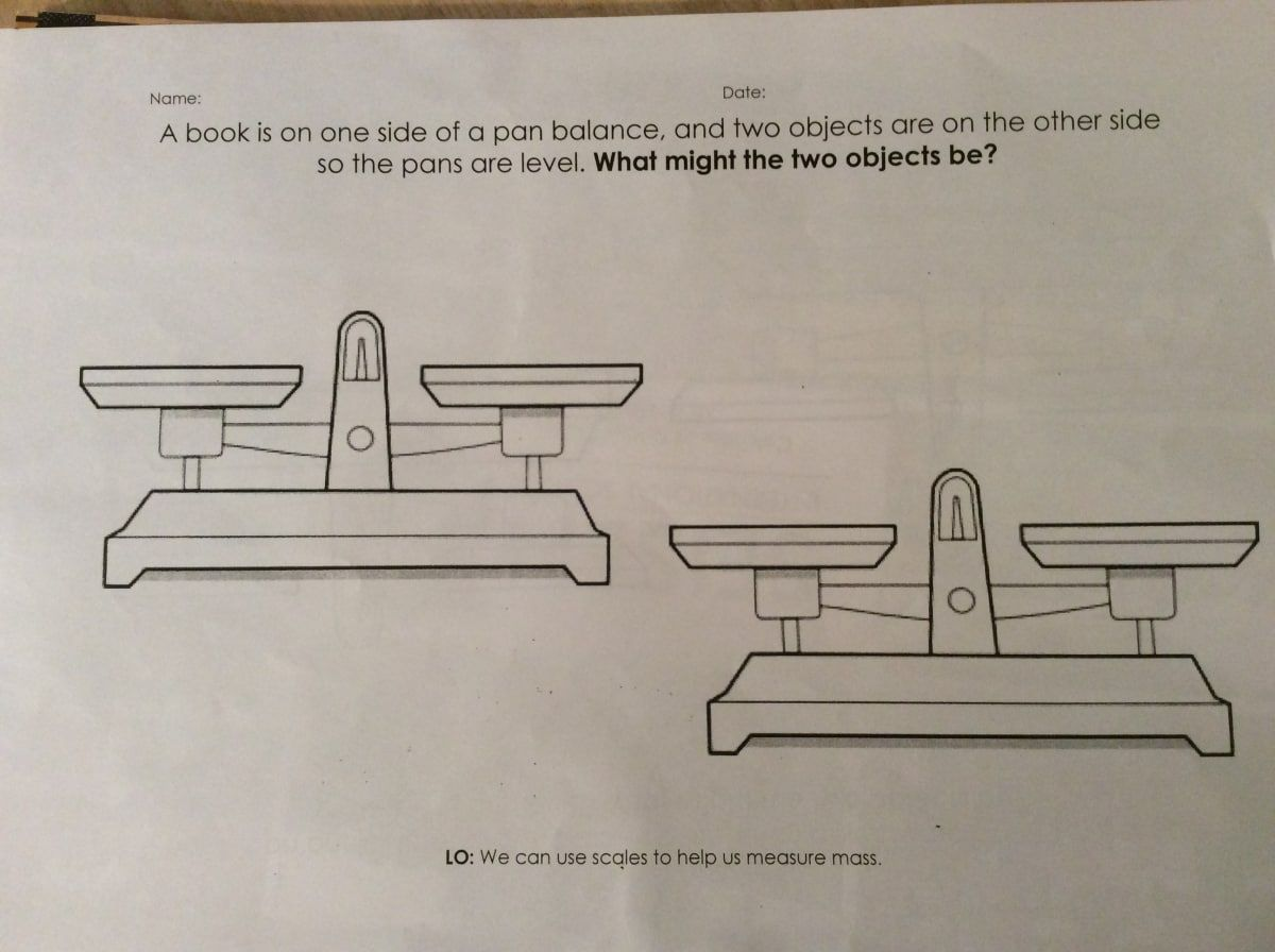 medium resolution of Worksheet On Measuring Weight Grade 1   Printable Worksheets and Activities  for Teachers