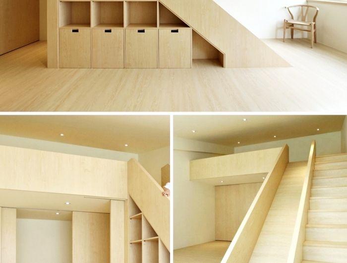 ▷ 1001 + astuces pour optimiser l\u0027espace limité avec un placard - porte de placard sous escalier