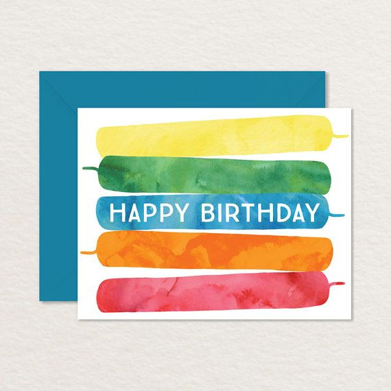 kids print out birthday cards