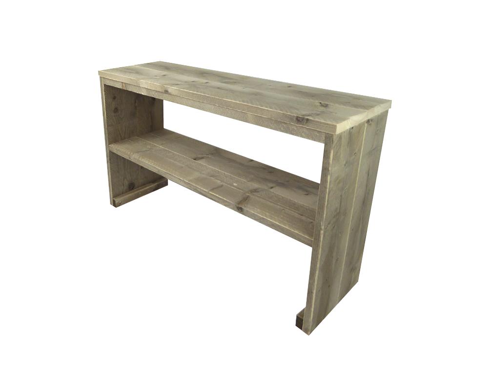 Steigerhouten Sidetable Koog.Steigerhout Sidetable In 6 Maten Tuinontwerp Modern
