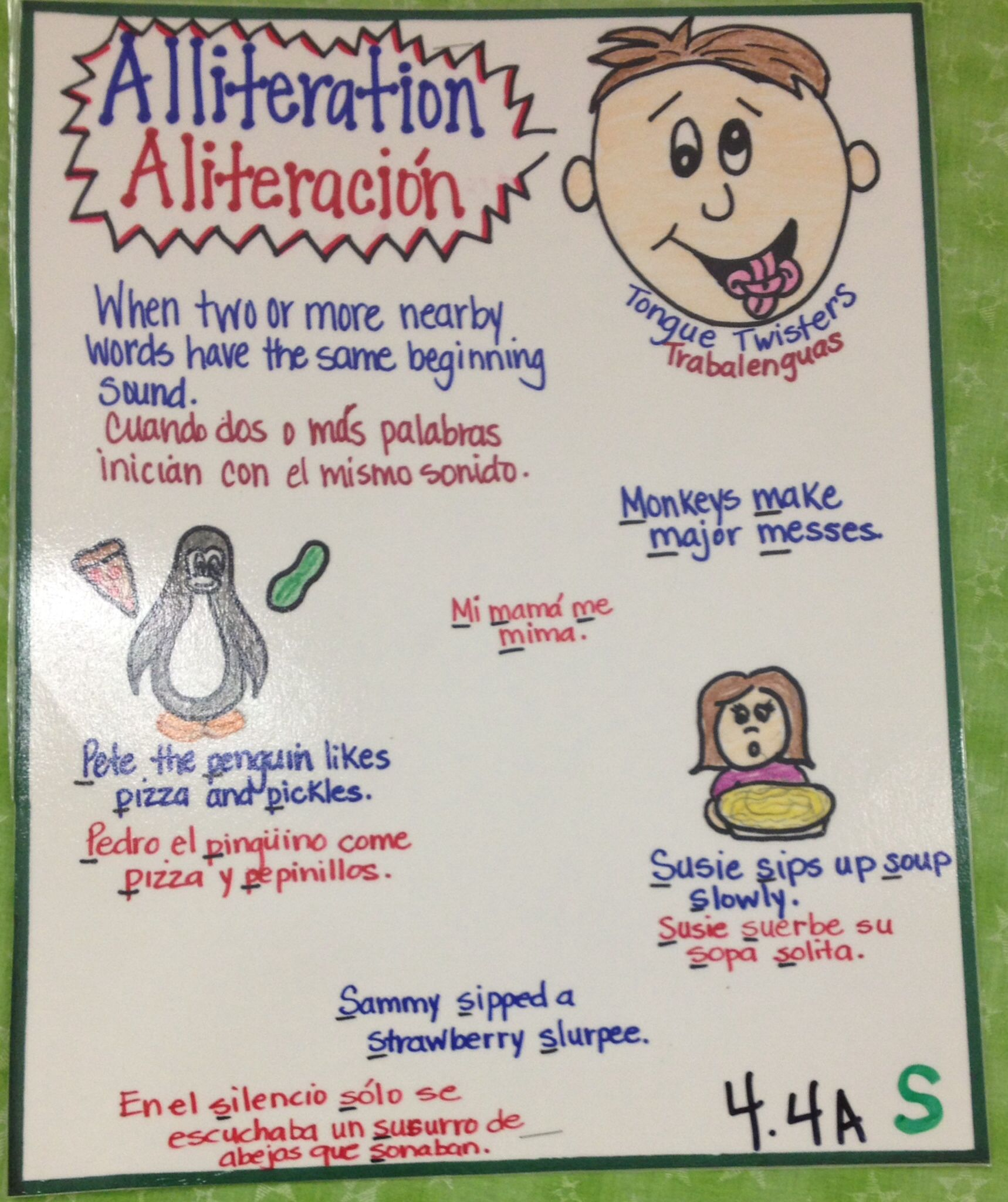 Alliteration Bilingual