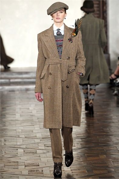 Ralph Lauren FALL 2012 Downton Abbey fashion