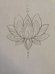 Image Result For Flor De Lotus Desenho Piercings And Tattoos