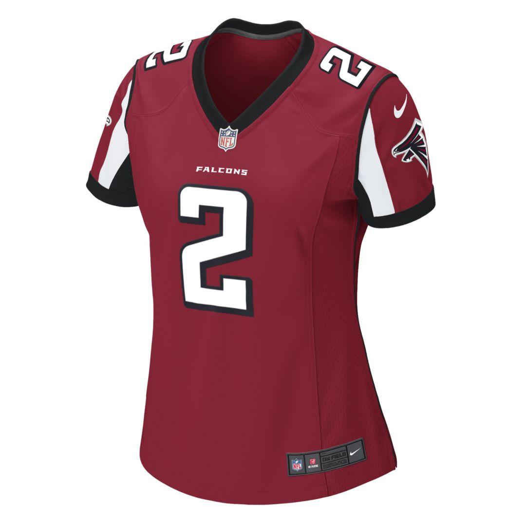 Nfl Atlanta Falcons Matt Ryan Women S Game Football Jersey Falcons Atlanta Falcons Atlanta Falcons Game