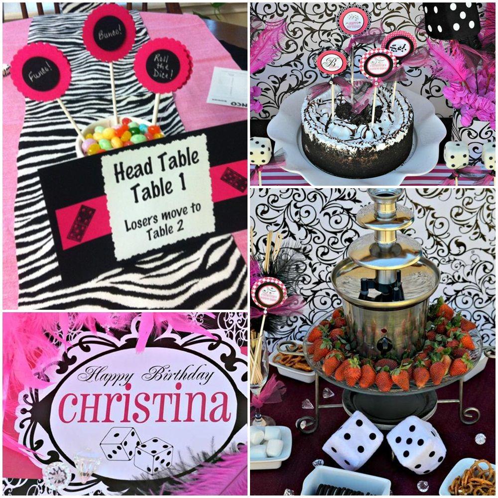 Christmas Bunco Party Ideas Part - 36: Bunco Party Food Menu Ideas Gift Ideas For Bunco Party Bunco Party Plates  Bunco Pajama Party