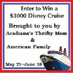 Win a $3000 Disney Cruise!
