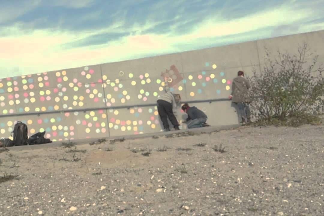 Gadekridt - street art i børnehøjde - Modul B kreativt produkt. Se også gruppens blog: https://gadekridt.wordpress.com/ og find inspiration