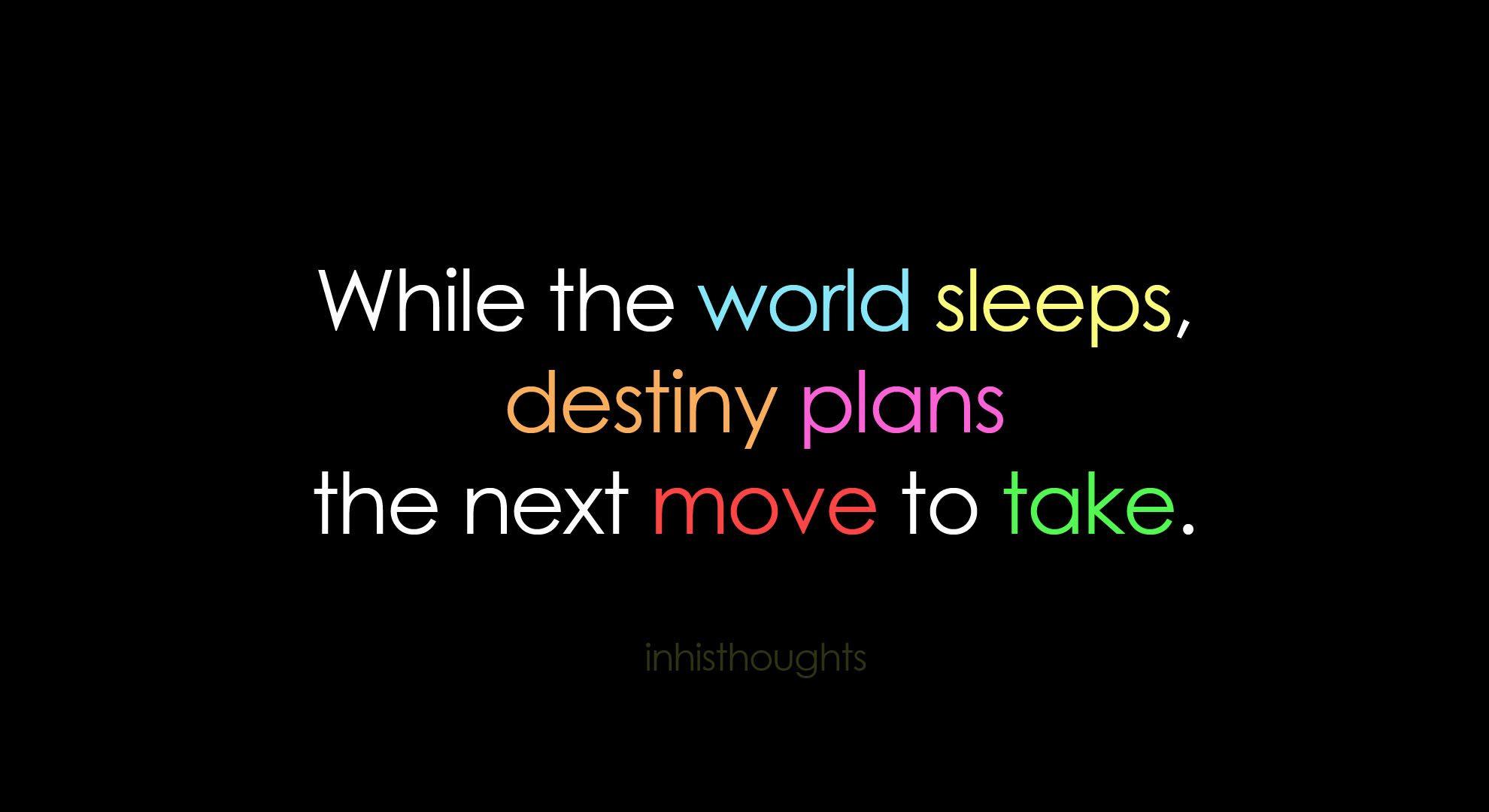 quotes about destiny | AnnetFox in Wonderland