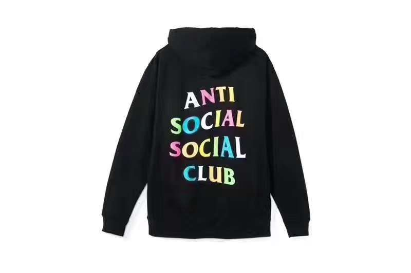 df7d69a46e92 Anti Social Social Club Multi Color Hoodie! Color  Black Size  M-XL  assc   antisocialsocialclub  hoodies  multicolor  instacolorful  streetstyle ...