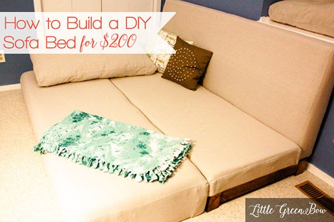 Diy Couch Plans For The Home Spare Room Pinterest Homemade Sofa Stained Concrete And