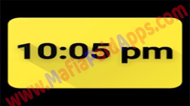 Digital Clock Live Wallpaper Unique & Minima v1.7 Apk