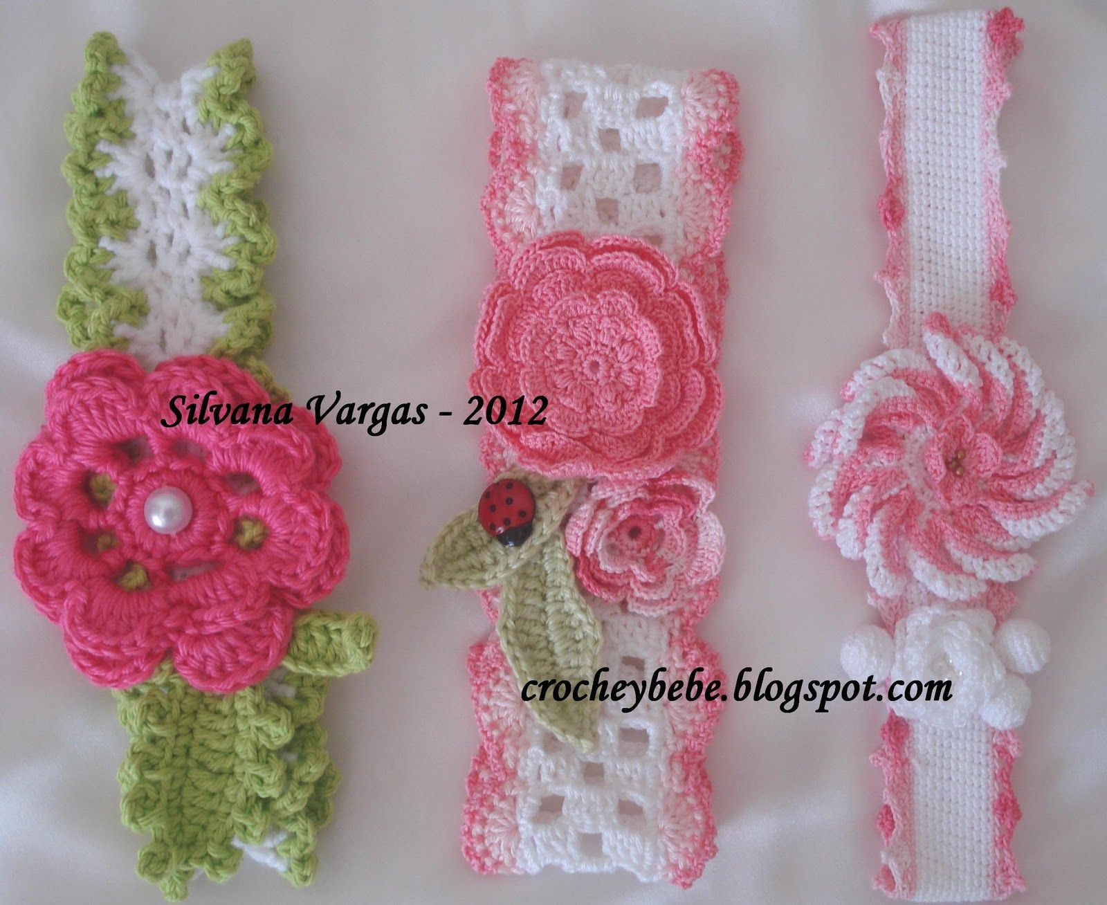 Crochet Baby - Headbands | Crochet for Baby | Pinterest | Crochet ...