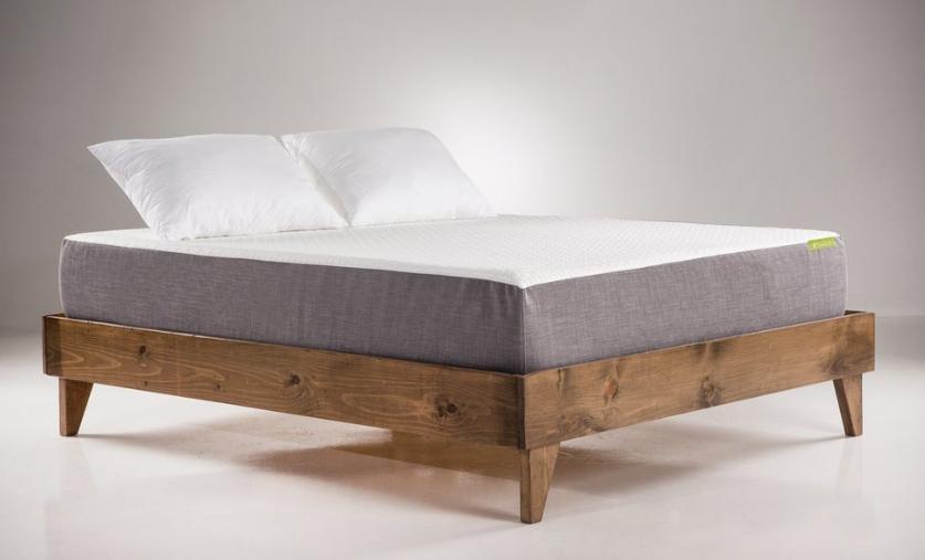 Wooden Platform Bed Frame Wood platform bed frame