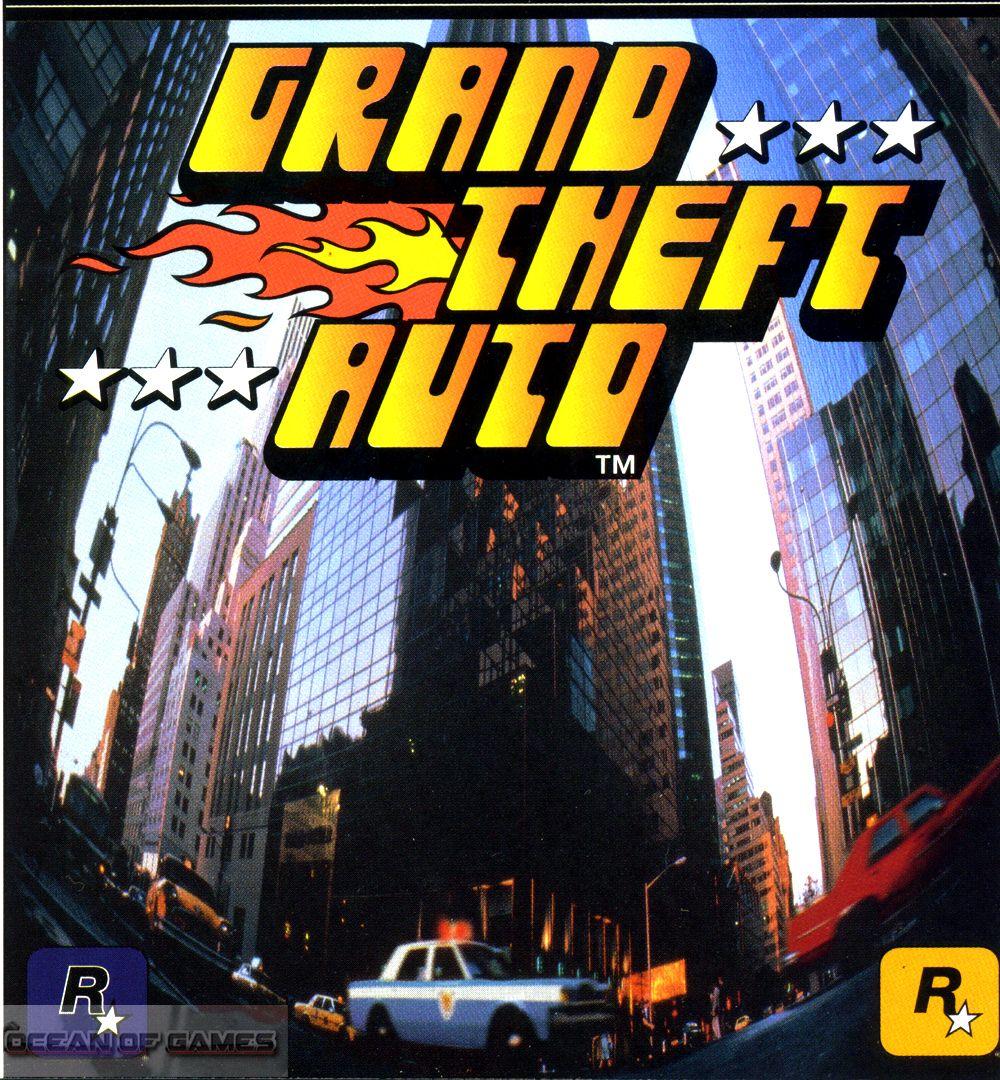 Gta 1 Free Download Classic Video Games Gta Grand Theft Auto 1