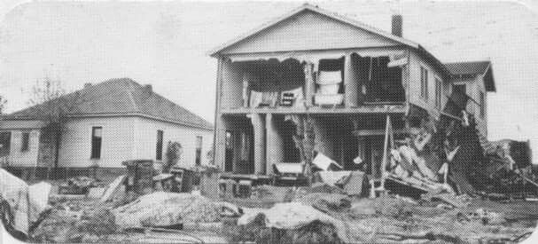 Great Flood 1936 History San San Angelo