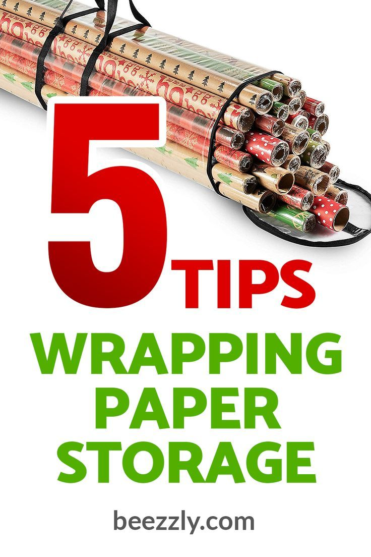 Best Wrapping Paper Storage Ideas Find your best wrapping paper storage ideas for Christmas or any other holiday Wrapping paper design ideas that you have bought now you...
