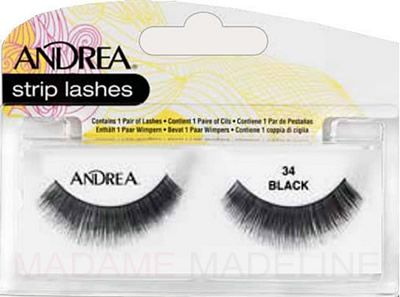 f00c06abfa6 Andrea ModLash Strip Lash #34 are made with 100% human hair, are reusable  and offer a nice bold look. #Andrea #Andrealashes