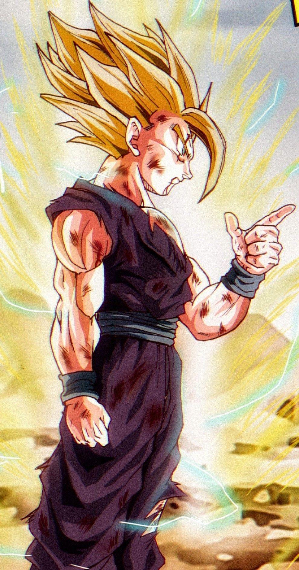 Gohan Super Saiyan 2 By Zamorabap Y Juliangutierrez02 Dragon Ball Super Dragon Ball Z Dragon Ball