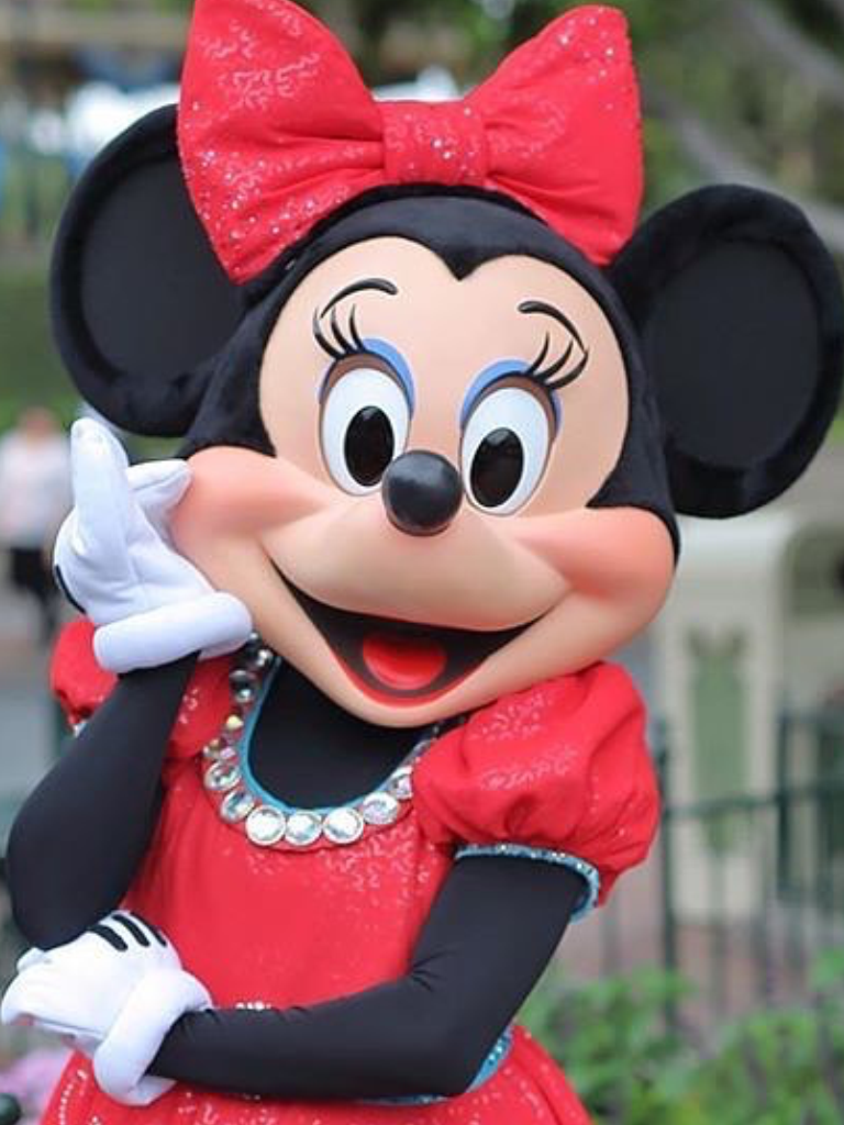 Dazzling Minnie Mouse