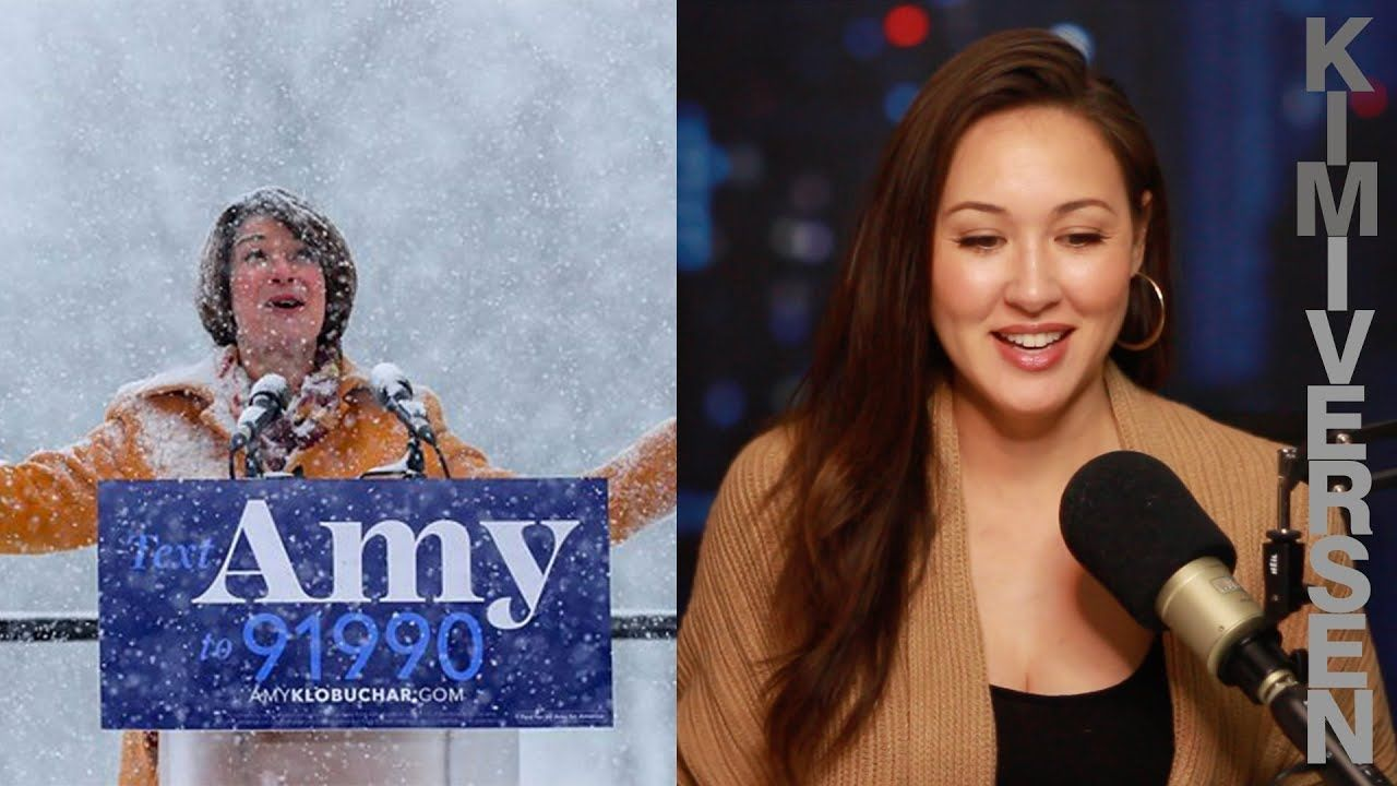 "Amy Klobuchar claims she's a ""Progressive"". Amy"
