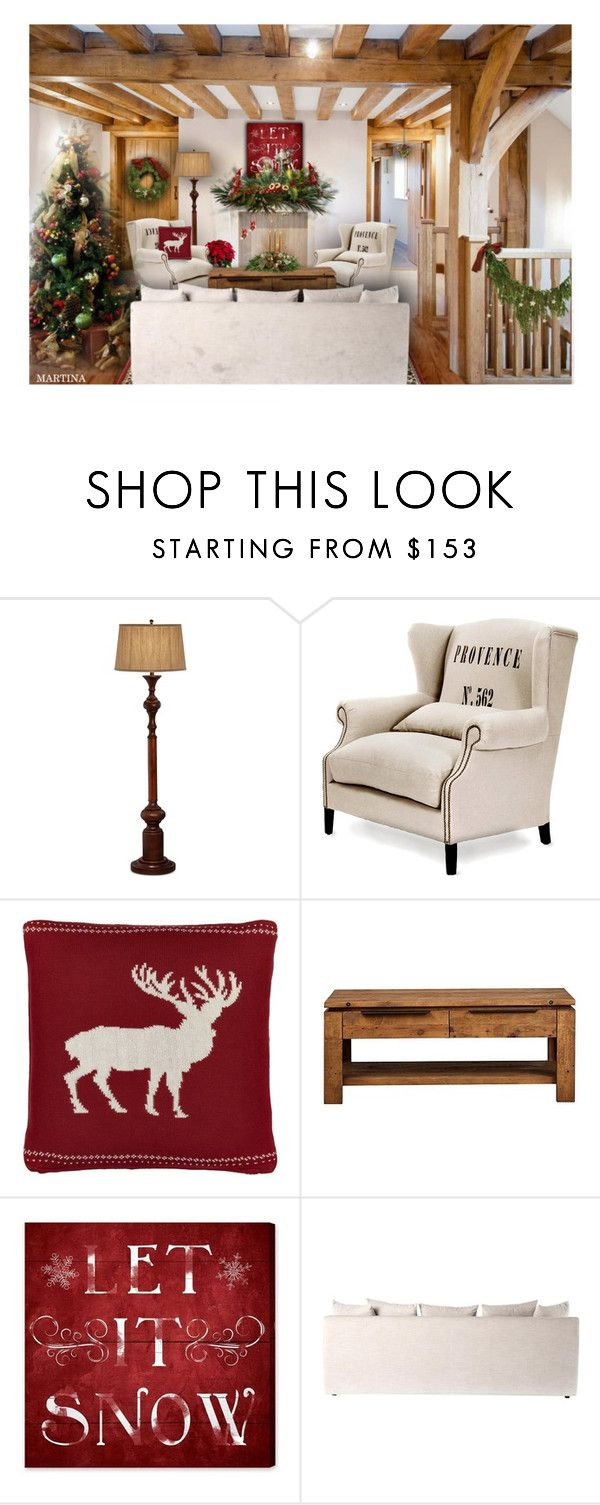 """""""Christmas Atmosphere"""" by thewondersoffashion ❤ liked on Polyvore featuring interior, interiors, interior design, home, home decor, interior decorating, Pacific Coast, John Lewis, Oliver Gal Artist Co. and Christmas"""