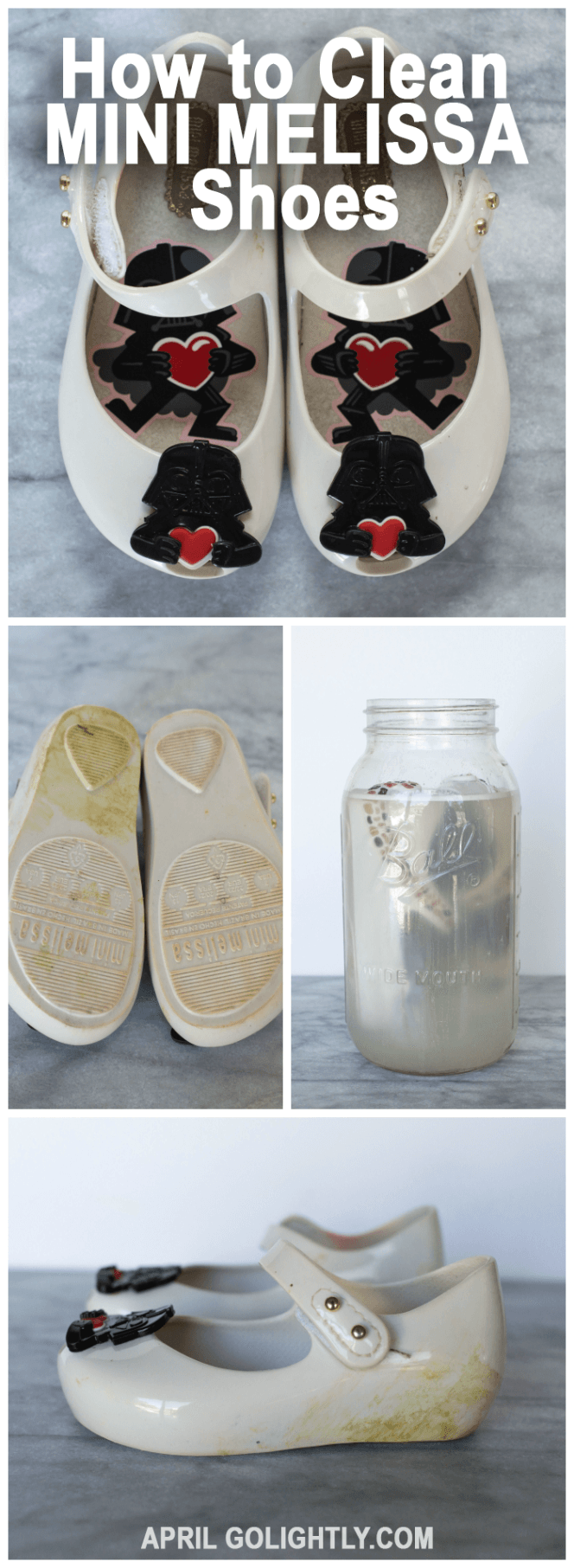 97f6cd68d81 How to Clean Mini Melissa Shoes Melissa Jelly