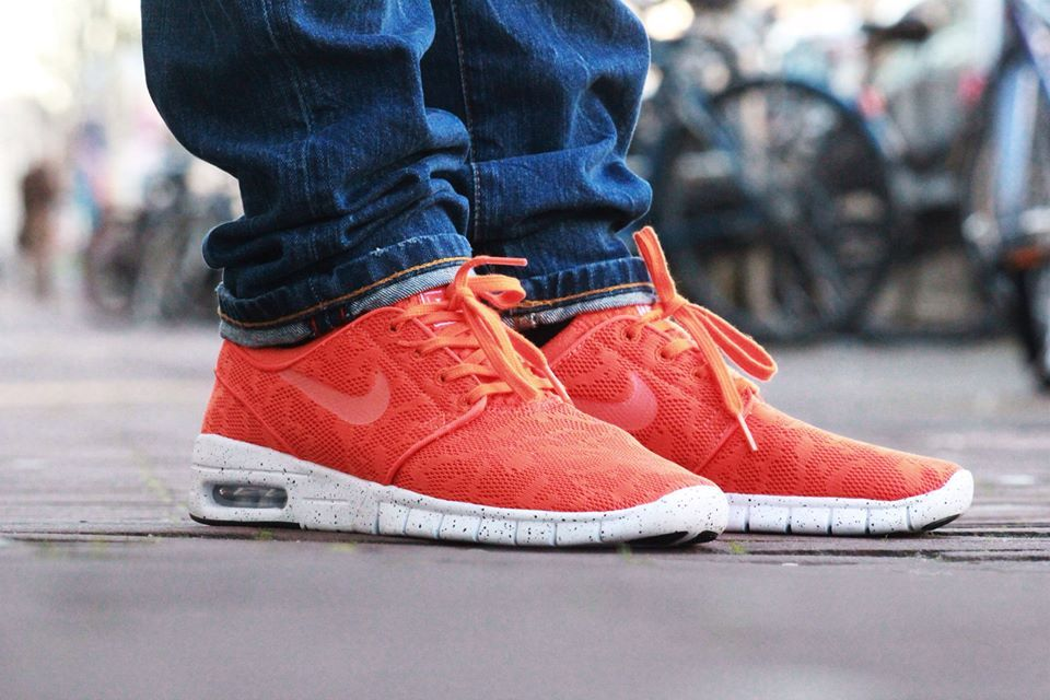 Nike Stefan Janoski Max Red