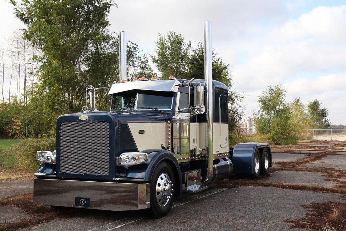 2011 Chrome Crew 2011 Peterbilt 388 Low Pro Flat Top with