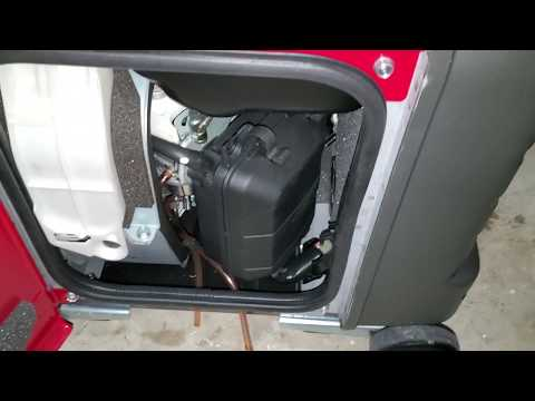 Honda EU3000is Gasoline Generator How To Check, Clean or