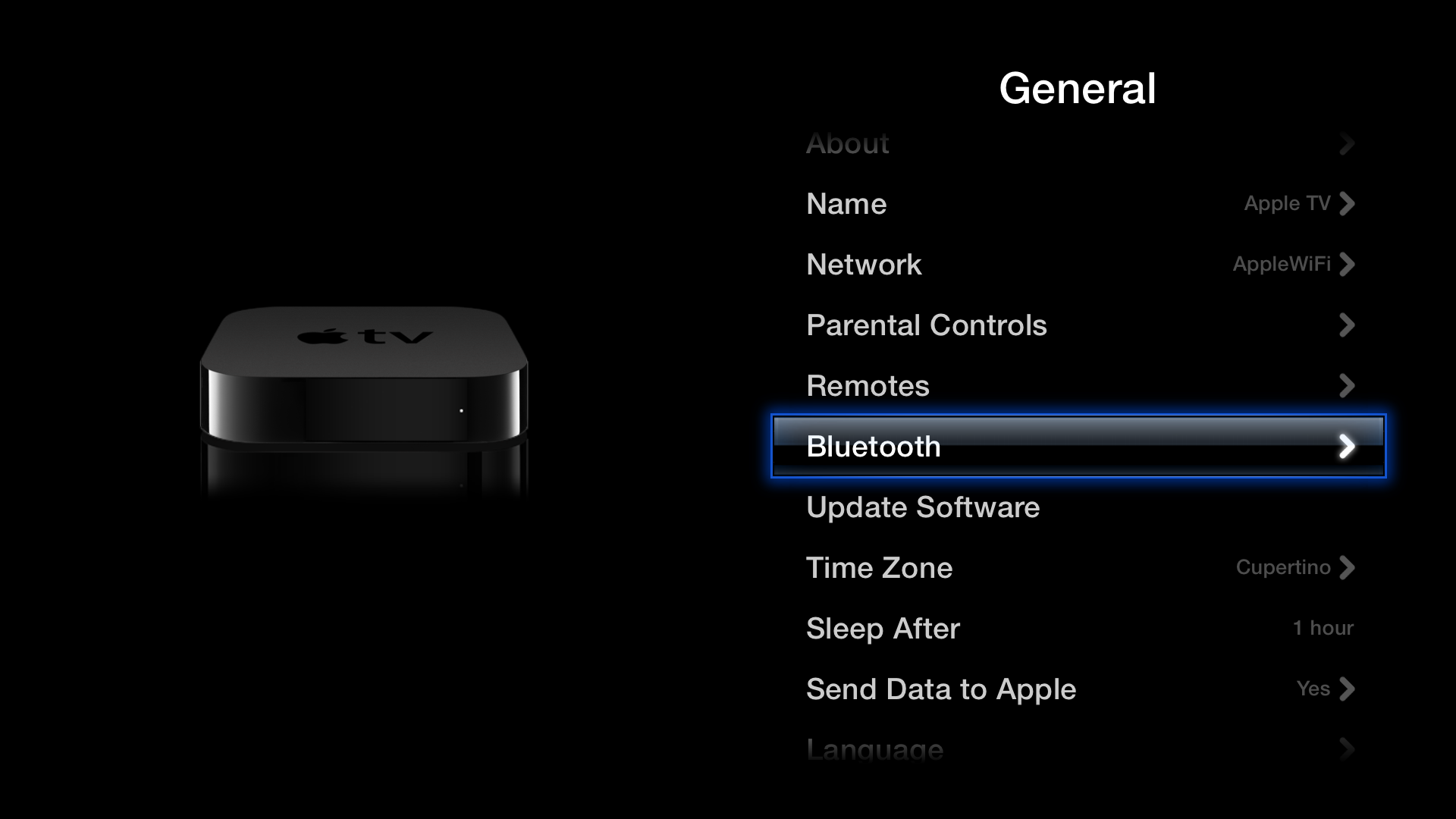 Apple TV Using the Apple Wireless Keyboard Apple tv