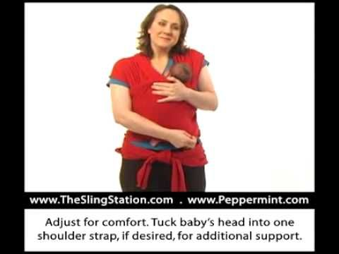 Wrap Instructions Pocketpre Tie Newbornkangaroo Care Nursery