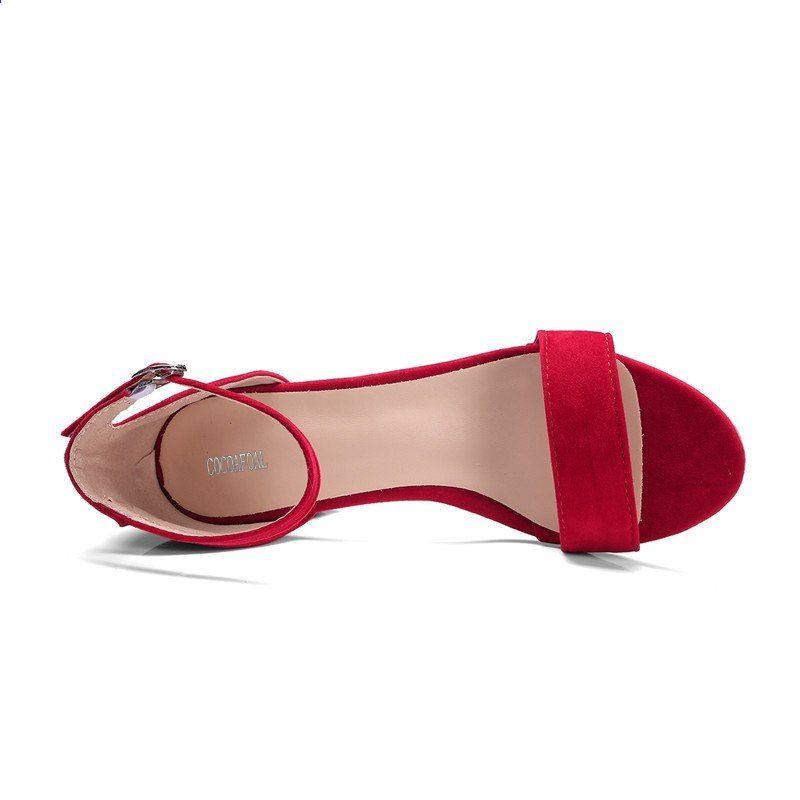 new styles 8d99f e158c Sandali donna con tacco alto COCOAFOAL Sandali con tacco ...